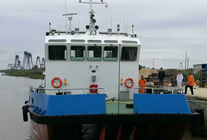 双体海上维护船