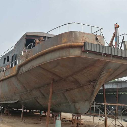 海上单体维护船