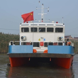 双体维护交通船